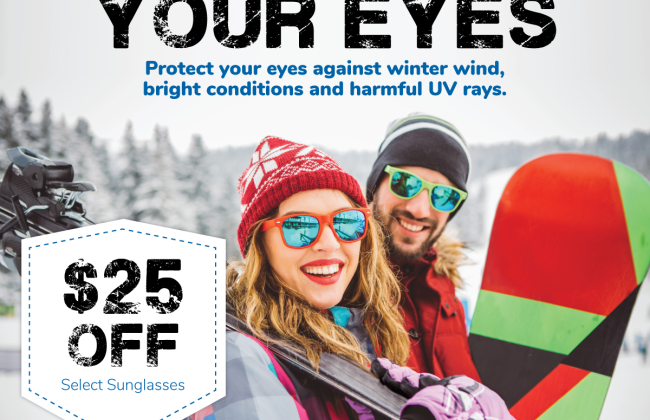 Save $25 - Winterize Your Eyes!
