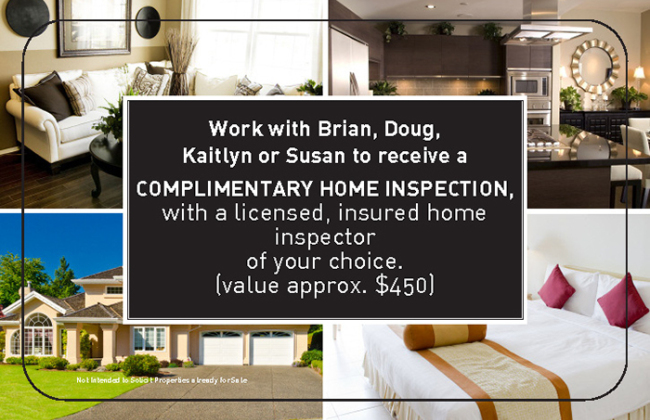 Complimentary Home Inspection