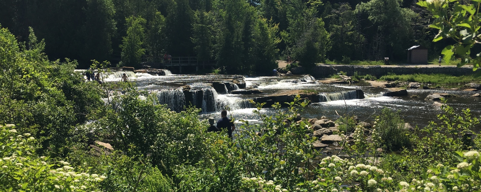 Sauble falls provincial park a great family destination for Camping camp municipal au jardin
