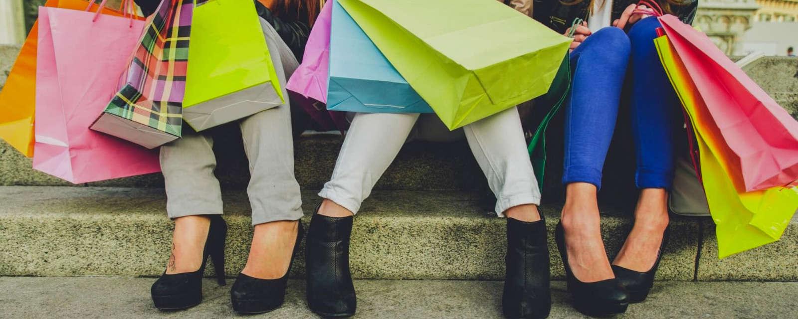 Time to shop 'til you drop.