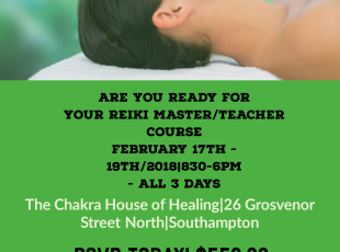 Reiki Master Course Information