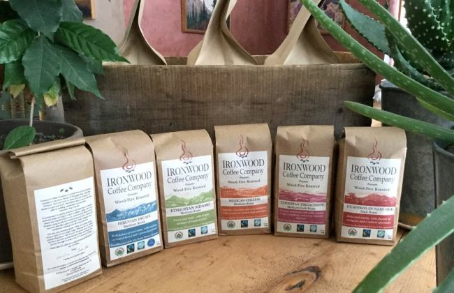 $2 Off locally made Ironwood Coffee