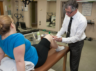 Ron Moss during treatment