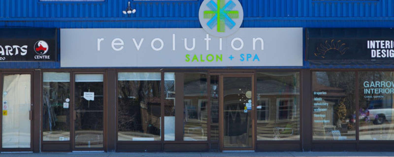 Revolution Hair Salon Port Elgin Ontario