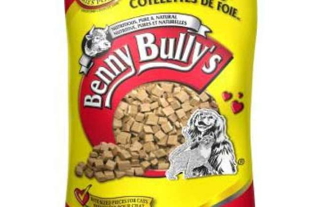 Free Bag of Benny Bully Dog Treats