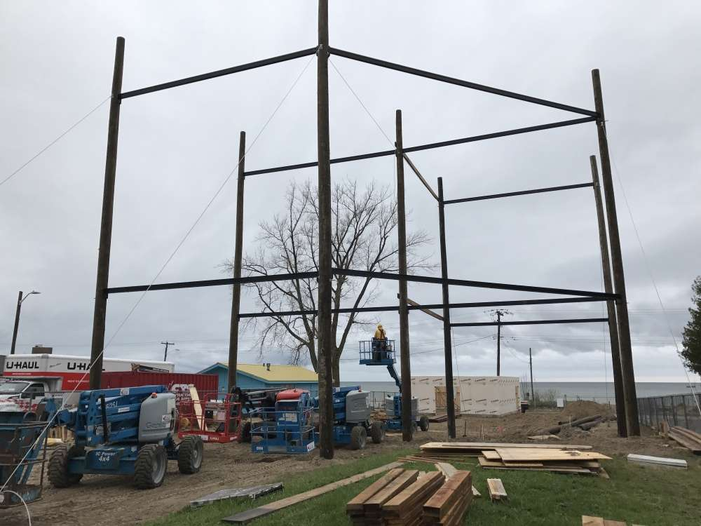 Steel is done!