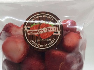 20% Off Frozen Strawberries