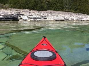 Kayak Georgian Bay