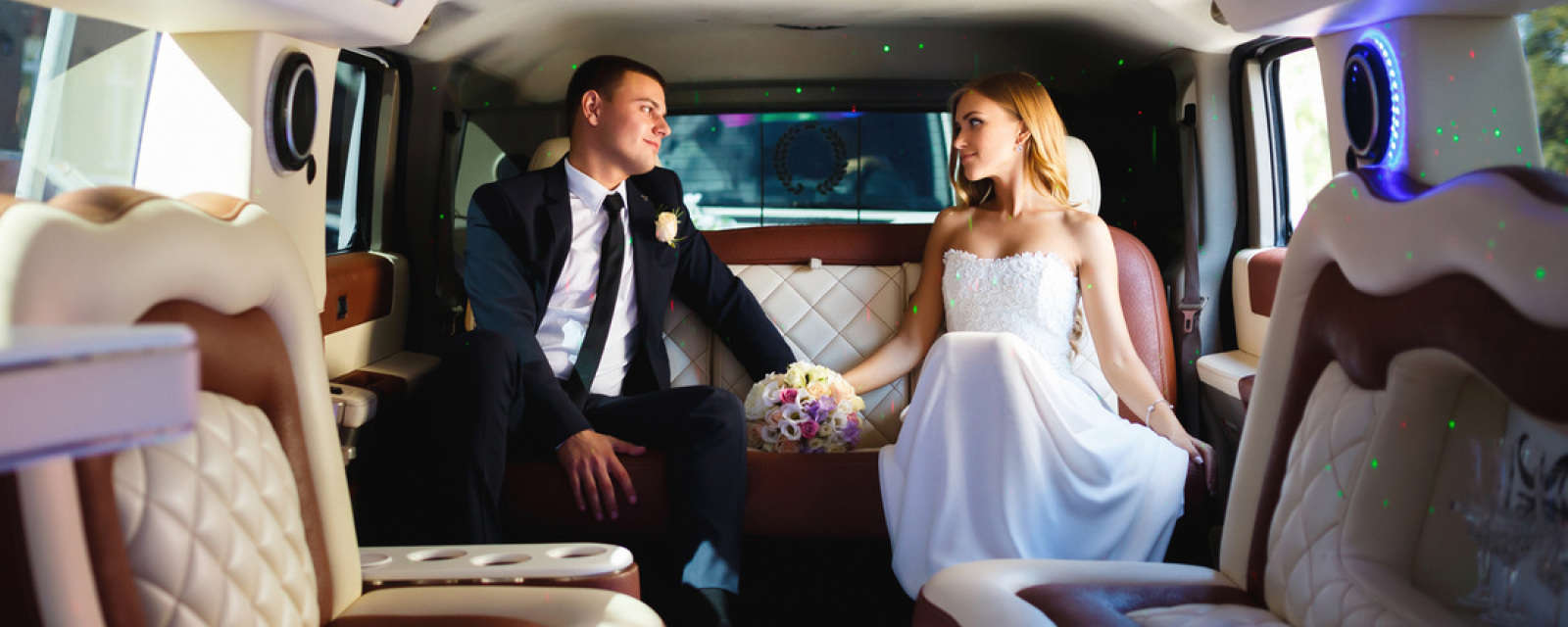 Limousine, buses and wedding transportation