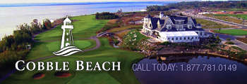 Cobble Beach banner SB
