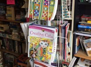 50% off Adult Colouring Books