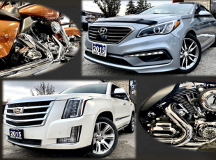 Bikes, SUVs, Cars and Much More!