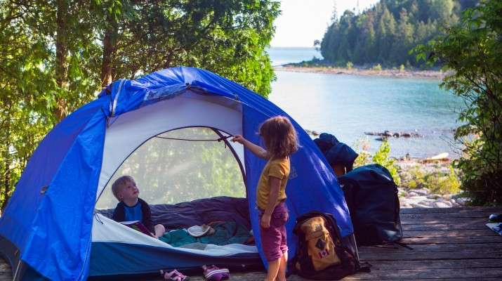 Camping the Great Outdoors