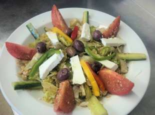 Our Greek Salad made by the Greek!