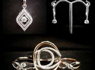 A variety of Canadian made jewellery
