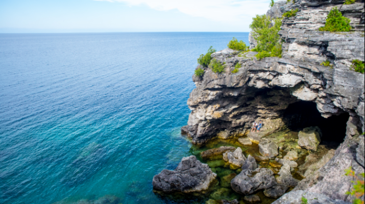The Grotto at The Bruce Peninsula National Park