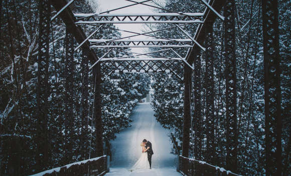 Balls Bridge, one of the Most Romantic Destinations in Huron County
